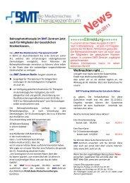 Laden Sie sich hier die Ausgabe 2 der - BMT Bio Medizinische ...