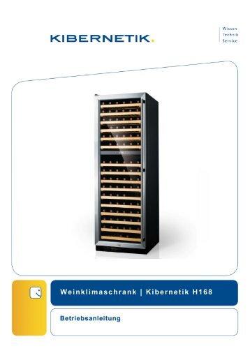 Weinklimaschrank | Kibernetik H168 - Frankenspalter.ch
