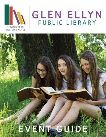 Glen Ellyn Public Library Spring 2013 Event Guide