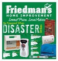 Lowest Price. Local Advice.TM - Friedman's Home Improvement