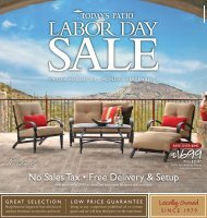 friday, august 24 - monday, september 3 - Outdoor Patio Furniture ...