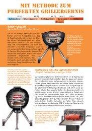 Mit Methode zum perfekten Grillergebnis - Fire & Food
