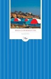 2012 Summer Newsletter - La Jolla Beach and Tennis Club