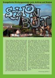 Ausgabe März - Mai 2013 - Kirchengemeinde Leck