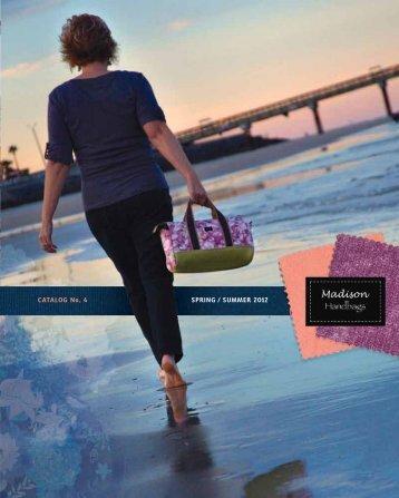 catalog no. 4 SPRIng / SUMMER 2012 - Madison Handbags