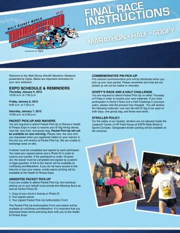 INSTRUCTIONS - ESPN Wide World of Sports