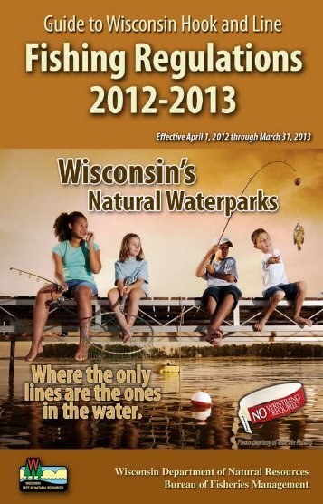 Hunter education course manual pdf wisconsin for Dnr fishing regulations