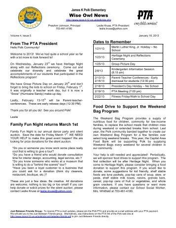 20130118 newsletter
