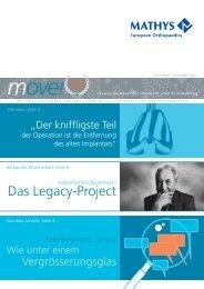 move! Newsletter, November/Dezember 2010 - Mathys AG Bettlach