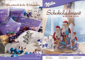 Milka wünscht frohe Weihnachten