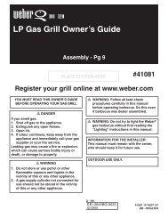BBQ Manual PDF Version - Riverside Garden Centre