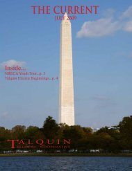 THE CURRENT - Talquin Electric Cooperative