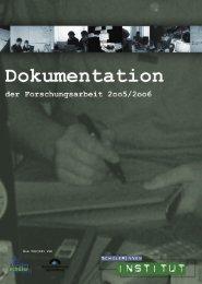 Dokumentation SchülerInneninstitut.indd - Würzburg Online
