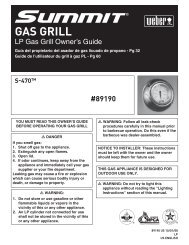 GAS GRILL - The Barbecue Store
