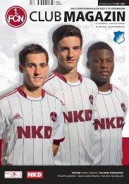CM 07 HOFFENHEIM.indd - 1. FC Nürnberg