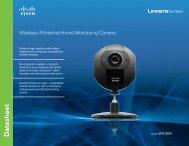 Wireless-N Internet Home Monitoring Camera
