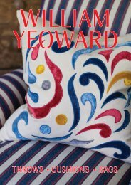 Throws, Cushions, Bags - William Yeoward