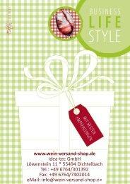 Katalog (PDF) downloaden / speichern - Wein-Versand-Shop