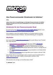 Das Powercommander Zündmodul ist lieferbar! - bei Micron Systems!