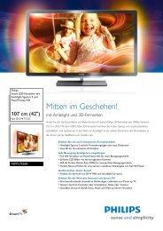 42 pfl 7656k 02 - Philips