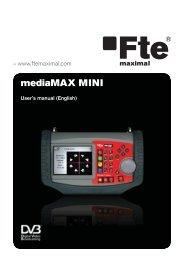 mediaMAX MINI - Fte maximal