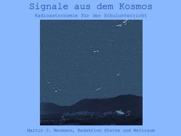 Signale aus dem Kosmos