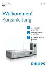 Kurzanleitung Willkommen! - Philips