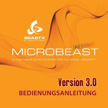 Anleitung - beastx - be absolute stable
