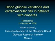 Blood glucose variations and cardiovascular risk ... - medicalrecords.gr