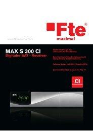 MAX S300 CI.FH11 - Fte maximal