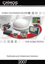 mobile multimedia solutions for mobile people - BM-Sat BV