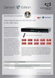 Triax-Hirschmann S-HD 100 CI+ mit 8 GB USB-Stick