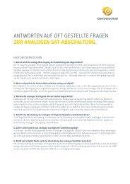 analogen sat-abschaltung. - Kabel Deutschland