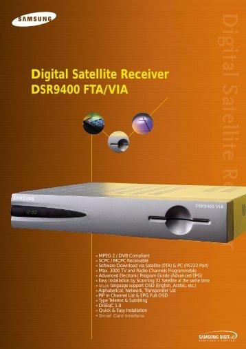 Digital Satellite Receiver