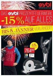 BIS 5.JÄNNER verlängert - Sport Eybl