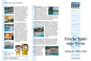 Bäder Frankfurt öffnungszeiten und eintritts preise der frankfurter bäder