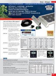 Solar - Anlagen