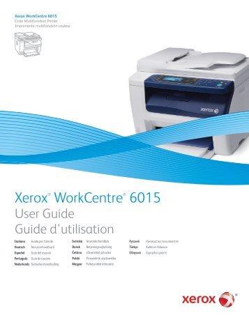 Xerox WorkCentre Manuals