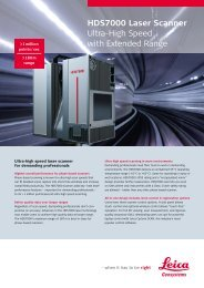 HDS7000 Laser Scanner Ultra-High Speed with Extended Range