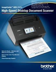 High-Speed Desktop Document Scanner - R Office Machines