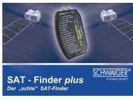 SAT - Finder plus - Schwaiger