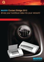Datenblatt im PDF Format - MASCH Software Solutions