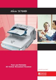 Fast and Reliable A3 Colour Document Scanner