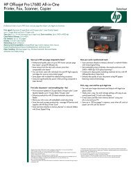HP Officejet 6000 Printer Get professional results, low cost per
