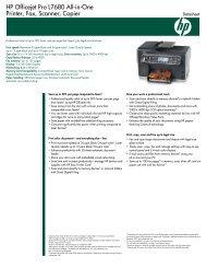 HP Officejet Pro L7680 All-in-One Printer, Fax, Scanner, Copier