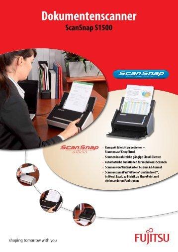 Dokumentenscanner - Fujitsu
