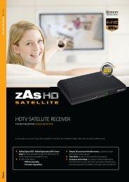 HDTV SATELLITE RECEIVER - Tradeworks