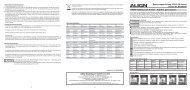 Bedienungsanleitung GP900 3D-Kreisel Bestell Nr. HEG90001 ...