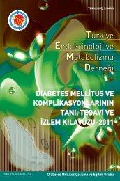 Diabetes Mellitus ve Komplikasyonlarının Tanı, Tedavi ve İzlem