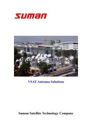 VSAT Antenna Solutions Suman Satellite Technology Company